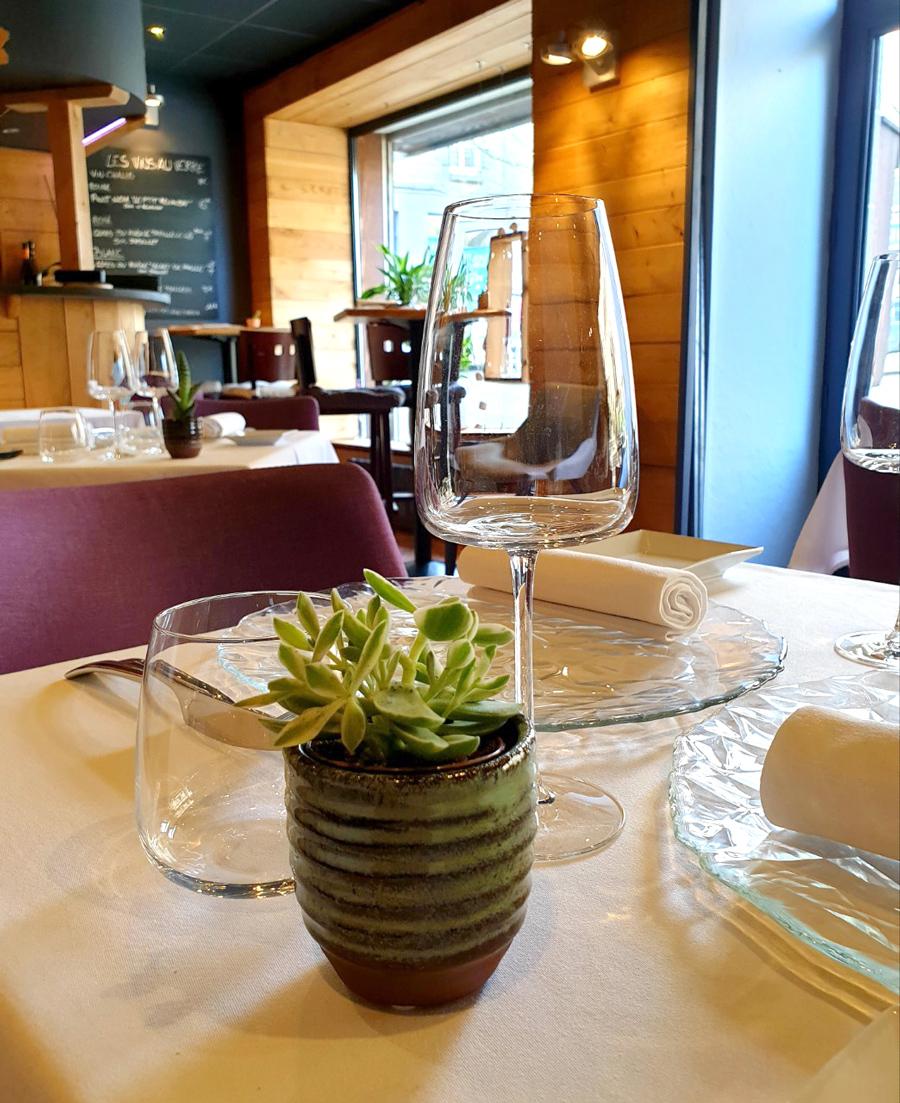 Salle du Restaurant l'Osmose à Pleudihen sur Rance
